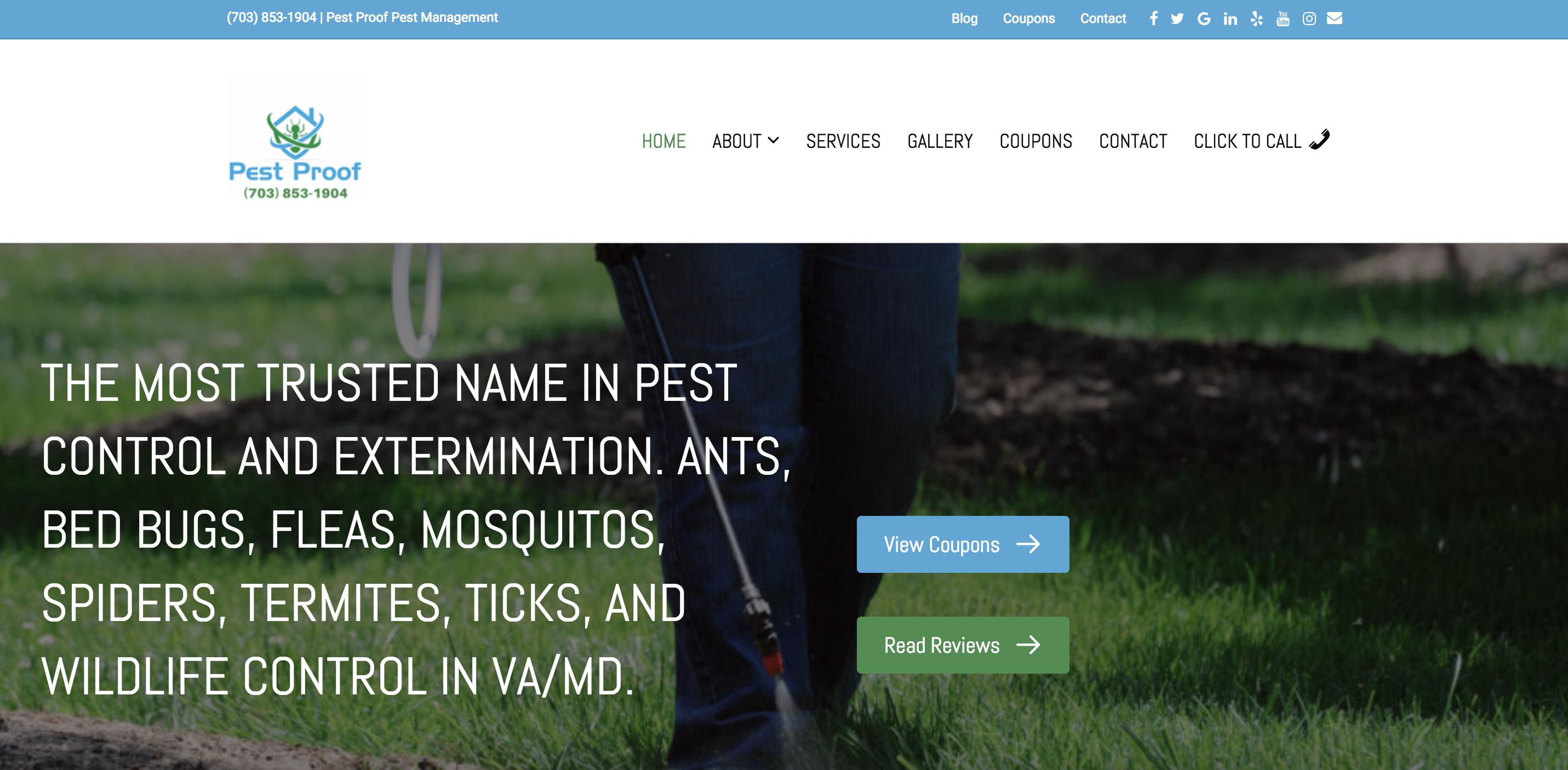 Our Work - Pest Proof Pest Management