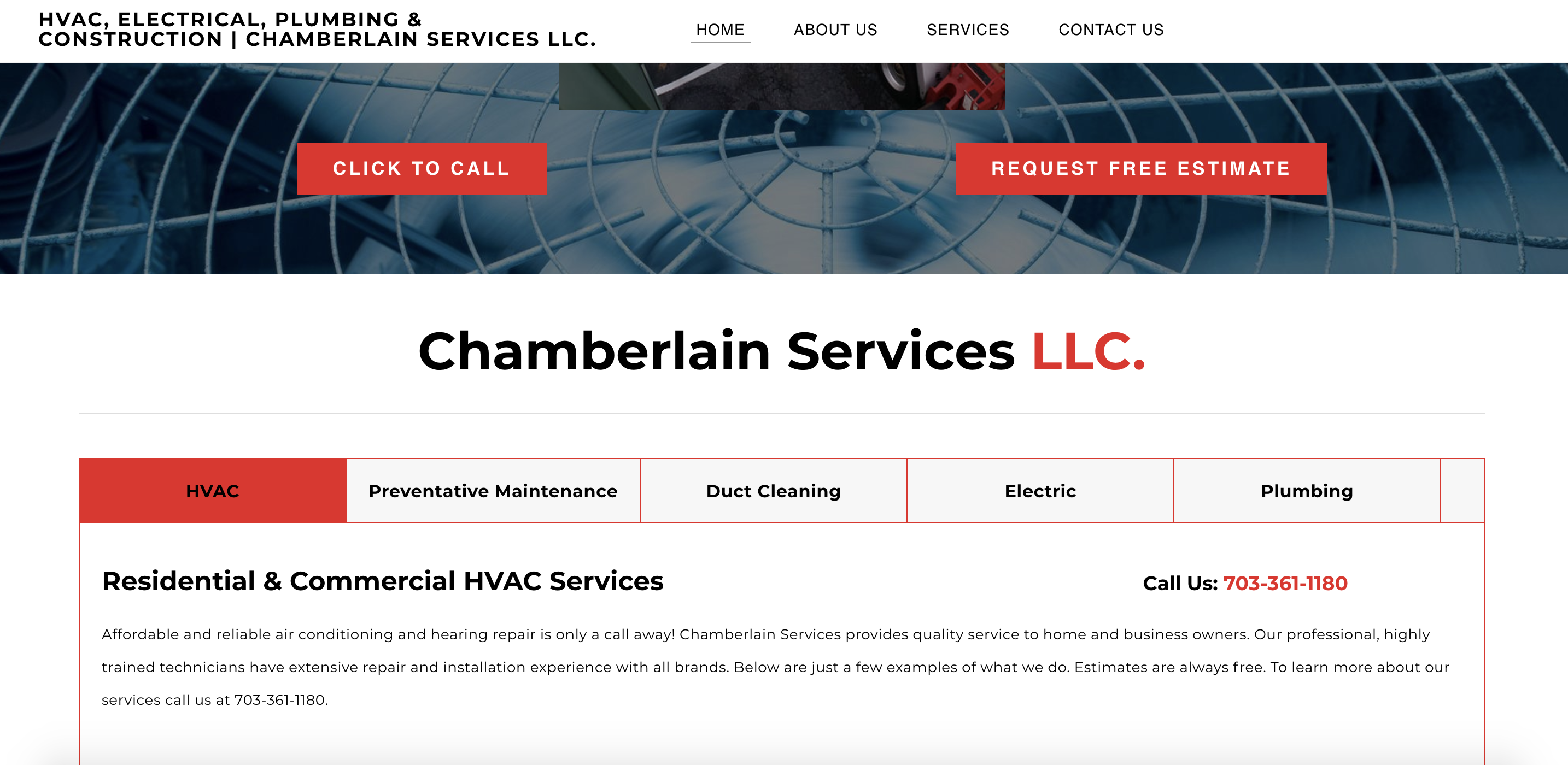 Our Work - Chamberlain Services