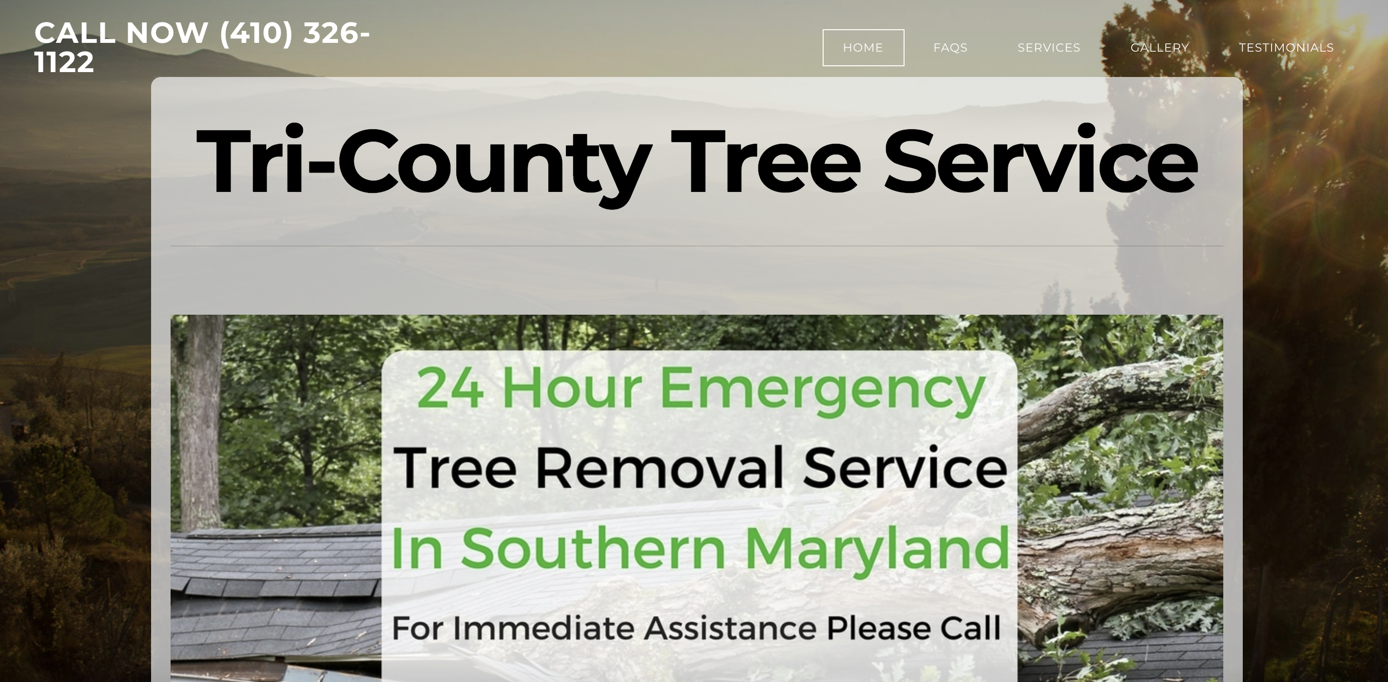 Our Work - Tri-County Tree